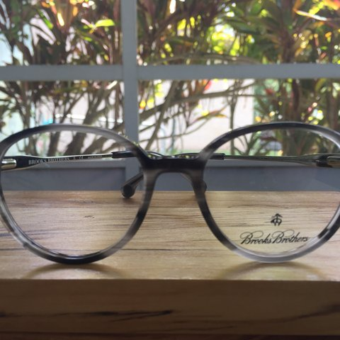 7829ad023995c Brooks Brothers frames. Ideal for substituting prescription - Depop