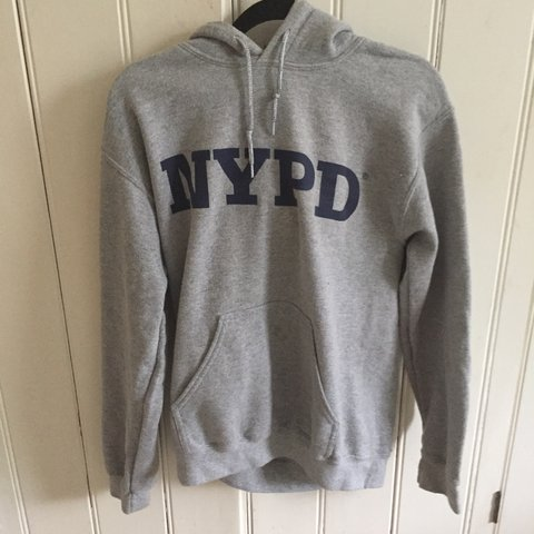 1e49394f5 @anna_richmond_. 3 years ago. London, UK. Super comfy grey nypd hoodie ...