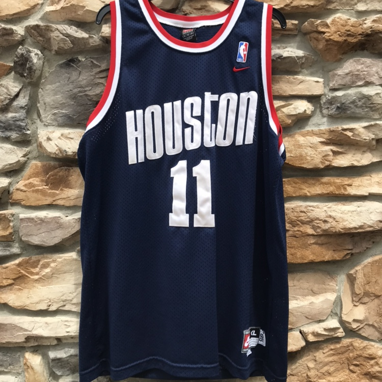 new concept b6f95 2d55e Yao Ming Nike throwback jersey #china #houston... - Depop