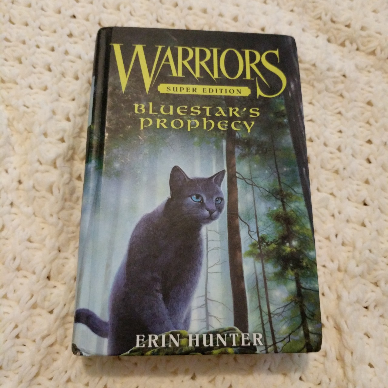 Warriors super edition, Blue Star's Prophecy by Erin    - Depop