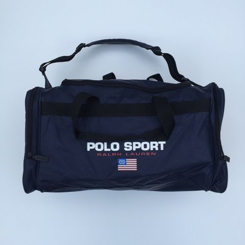 4e82cc0aaa07  gngthriftstore. 3 years ago. United Kingdom. RALPH LAUREN POLO SPORT  DUFFLE BAG ...