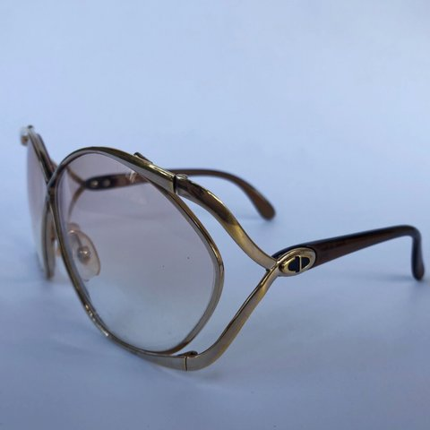 86a973fed04 Amazing 70s 80s Christian Dior butterfly eye glasses. note a - Depop