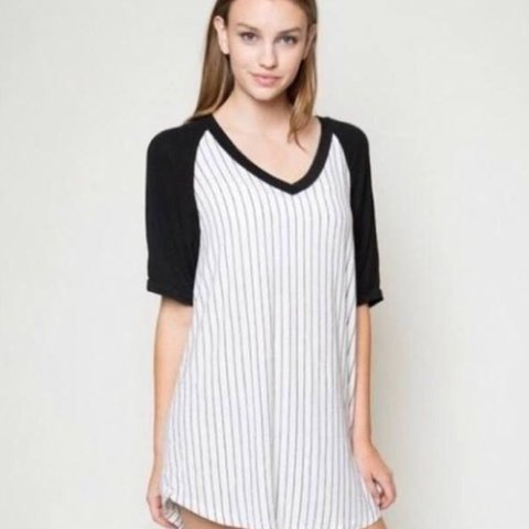 oversized baseball shirt dress
