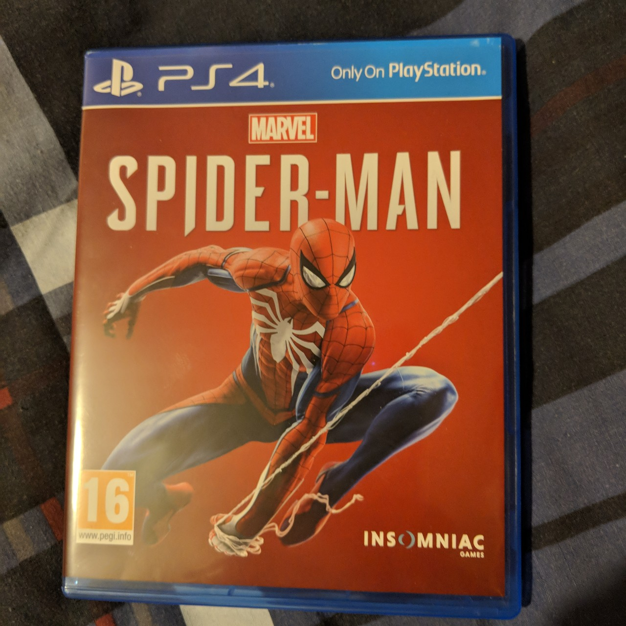 Spider-Man PS4 game for sale Near mint    - Depop