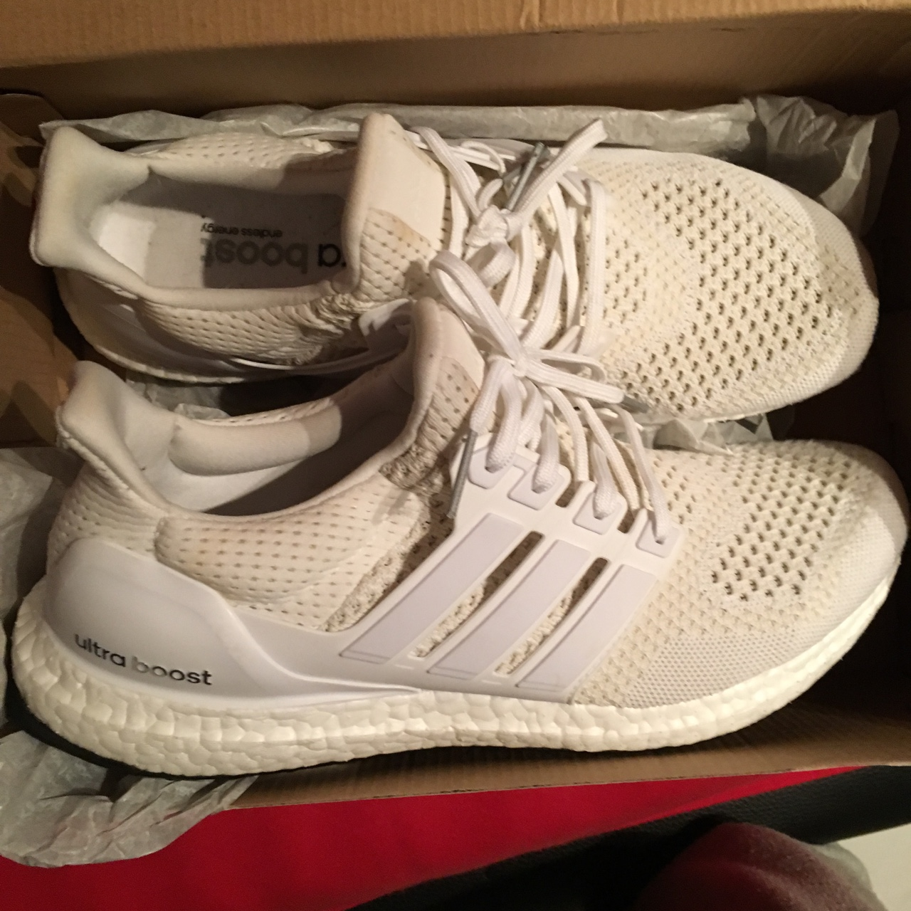 Adidas Ultra Boost 1.0 US9.5, dm me for more Depop
