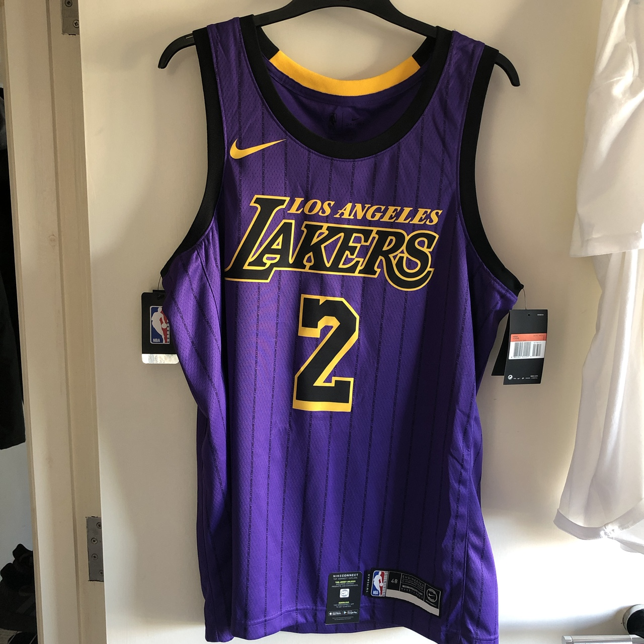 low priced f71e2 9643e LA Lakers official 2018-2019 #CityEdition jersey.... - Depop