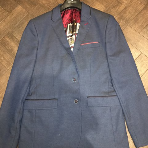 fae1beac3 Light navy ted baker blazer Size 4 with 2 pockets in the on - Depop