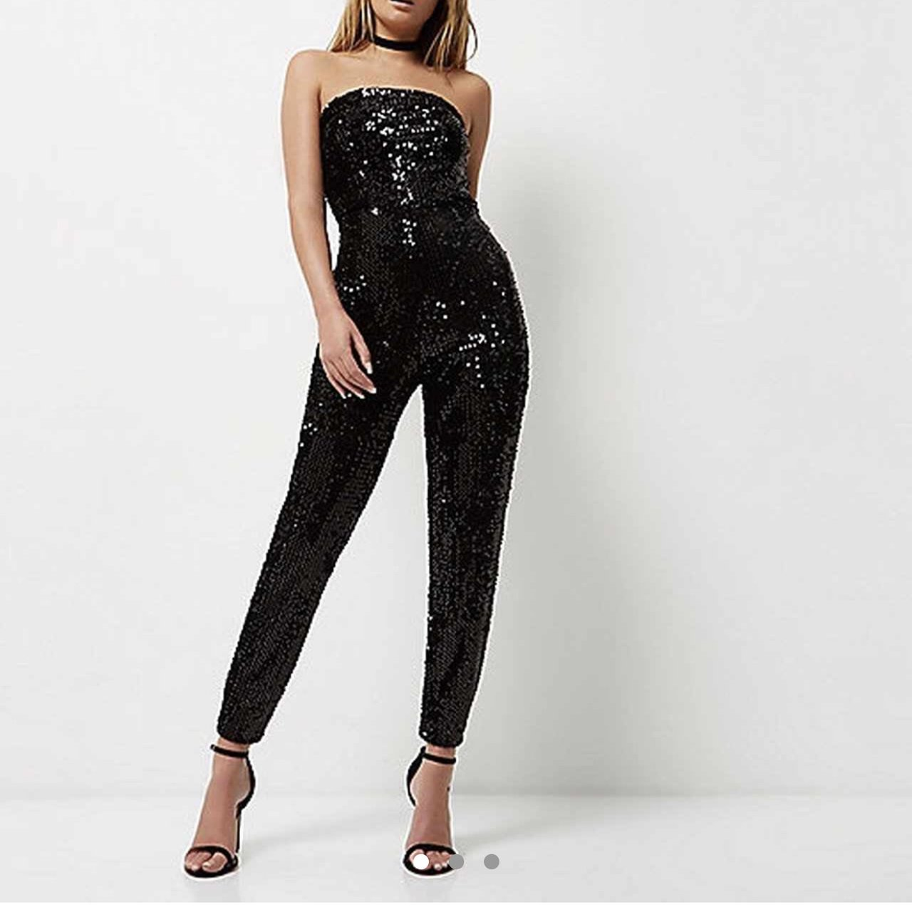 42781a5f1c5 £10. PRETTY LITTLE THING BLACK BODYCON. £15. Absolutely gorgeous black  sequin bandeau