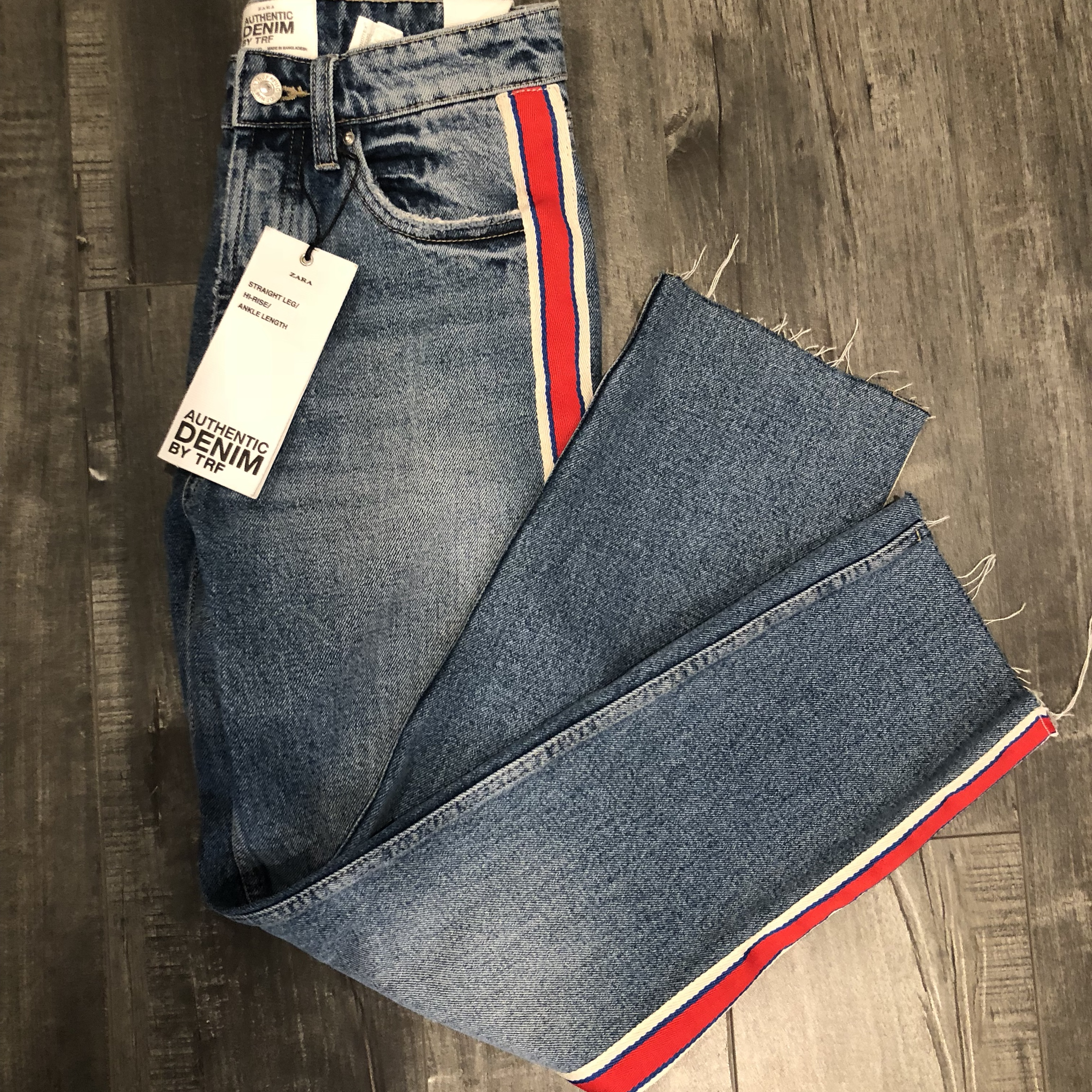 4ee5f1a4 ZARA high waisted jeans! never worn before,tags are... - Depop