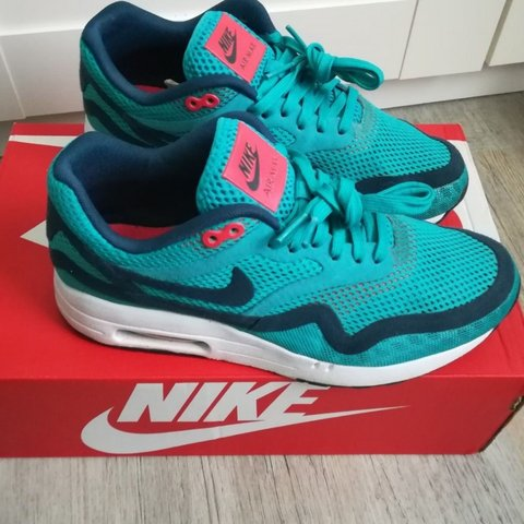 outlet store 4a035 6d69e  pop11. 3 months ago. London, GB. Nike air max 1 Breathe Trainers, Turbo  Green ...
