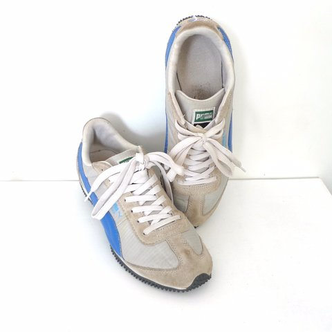 d6909cf847be On sale from  44! ☆Puma old school sneakers- women s size to - Depop