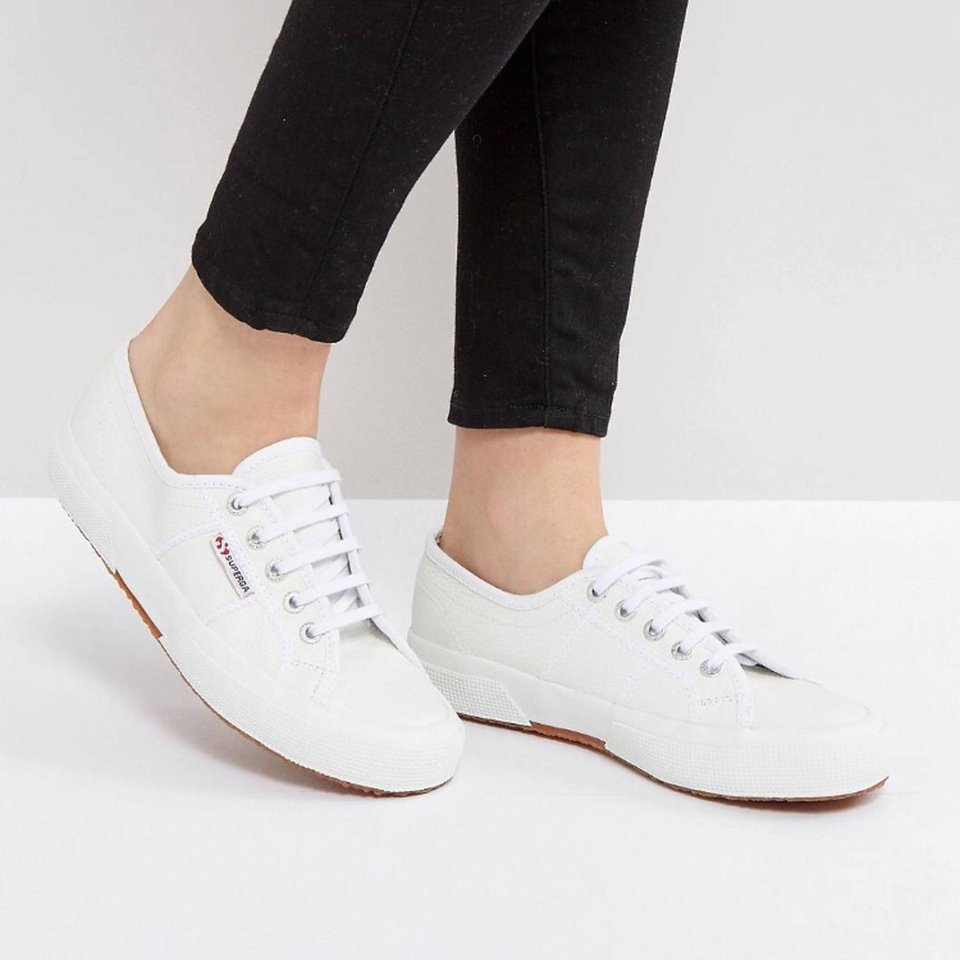 BRAND NEW Superga 2750 Leather Trainers