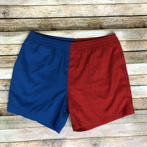 e0273dcd1c5d3 Chubbies 2 Toned Red and Blue Shorts In excellent used No - Depop