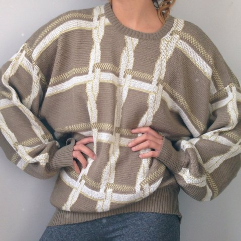 c3a200753 Quality super warm soft knit assorted  vintage jumpers all - Depop