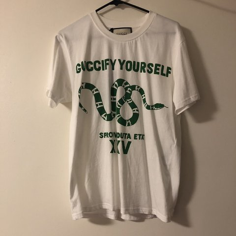 6b08c8164 @themaineplug207. 6 months ago. Bangor, United States. Gucci Guccify  Yourself Tee Shirt ...