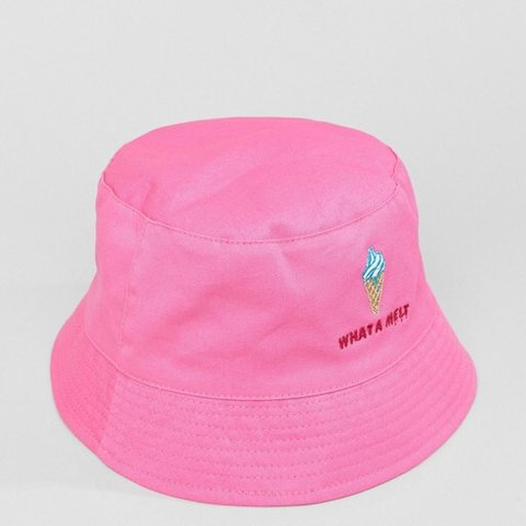 fcf2cc897a0 What a melt  Bucket hat by ASOS. ASOS DESIGN bucket hat in - Depop