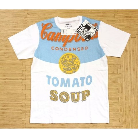 5c6ded8473 @vintage_steamboat. 7 months ago. Hudson, United States. Men's UNIQLO SPRZ  NY Andy Warhol Campbell's Soup T-Shirt