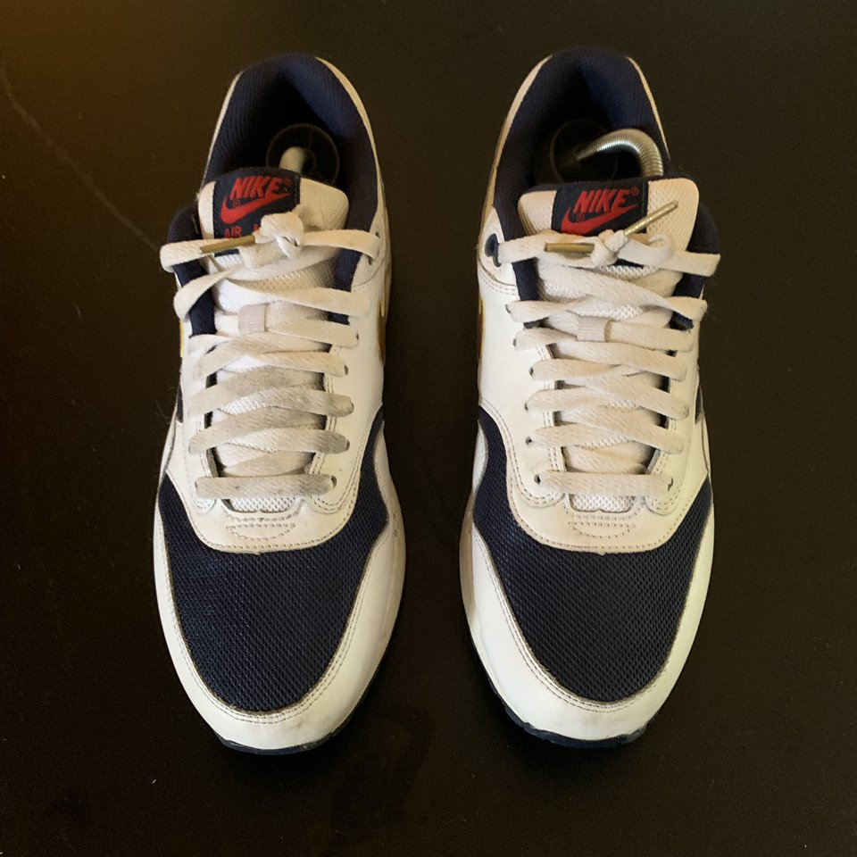 Air Max 1 Essential Olympic Nike 537383 127 white
