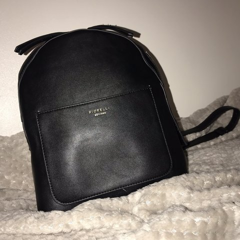Black mini Fiorelli backpack Looks brand new ( hardly used ) - Depop