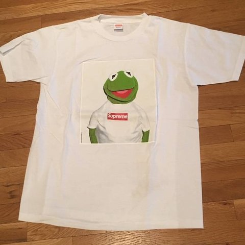 Stock Supply 8 Months Ago Mesa United States Supreme Kermit The Frog T Shirt