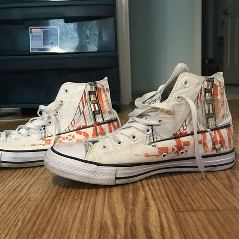 "c40df07eb1 Converse ""San Francisco"" High-Tops"