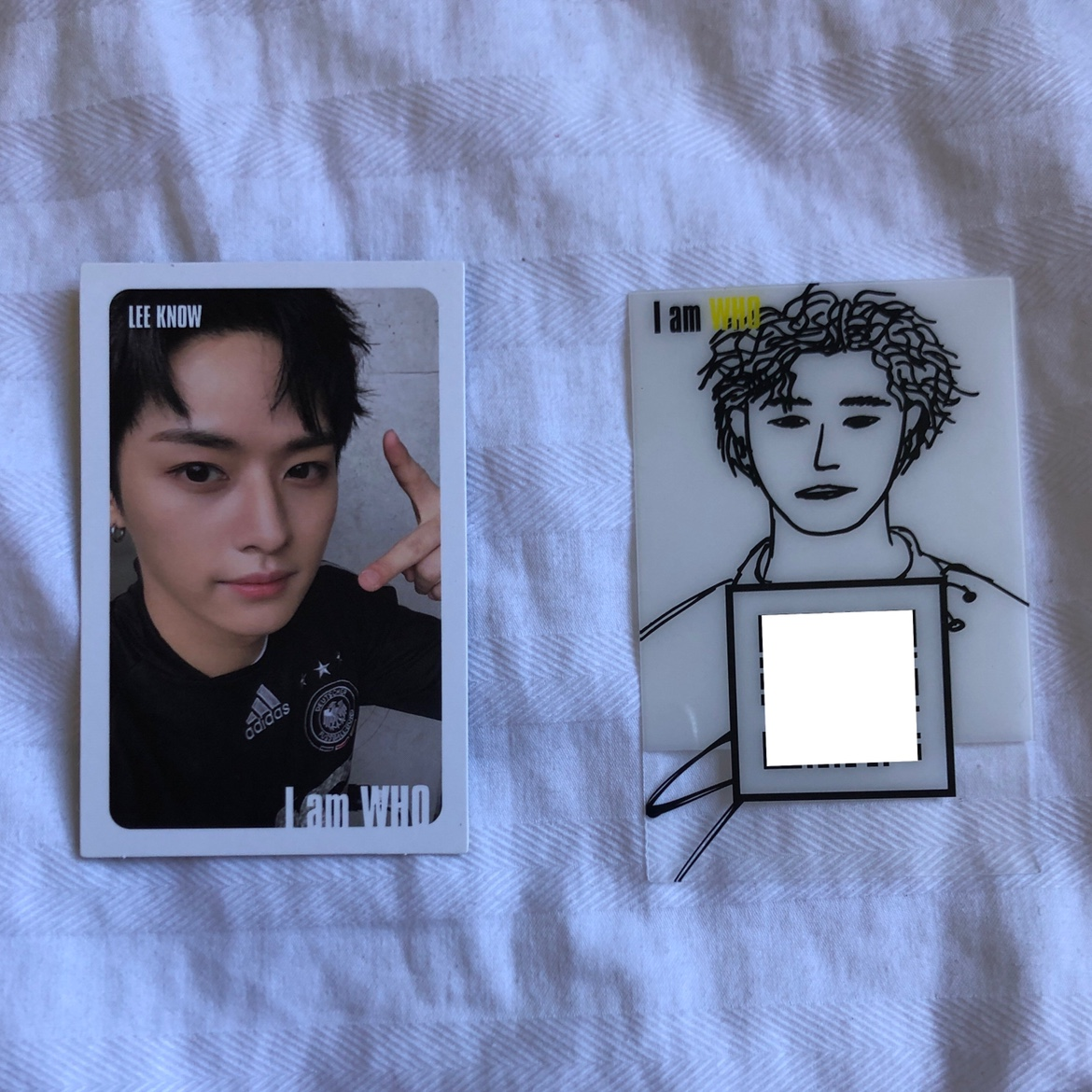 Stray kids I Am Who photocards chan drawing    - Depop