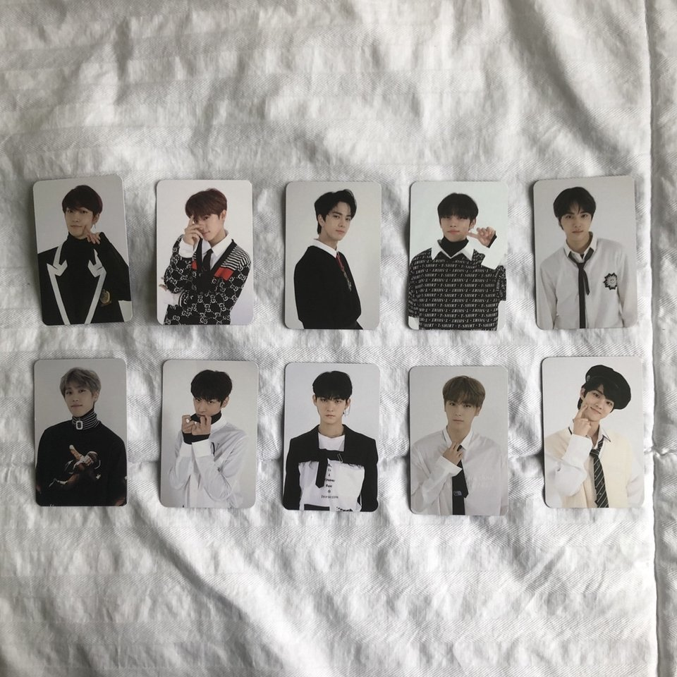 The Boyz Official Showcase Photocards Official Not Depop