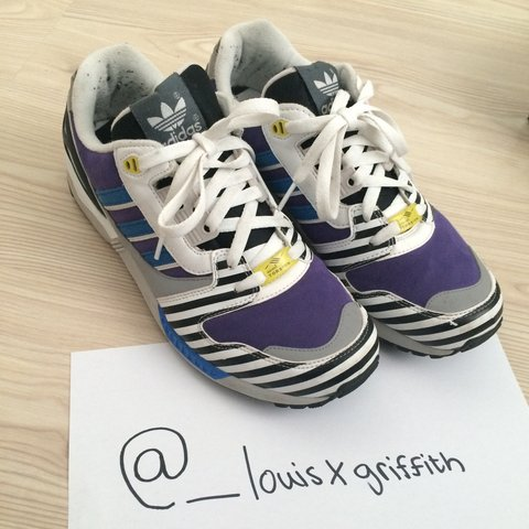 bde2ba1e6 Adidas Torsion ZX 8000    Some signs of wear the shoes have - Depop