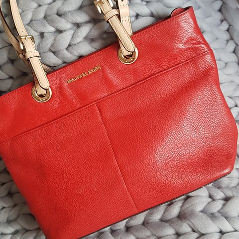 bbd6f530aa3d @cates_closet. 9 days ago. Lucan, South Dublin, Ireland. Red Michael Kors  handbag. Perfect condition. #genuine #mk ...