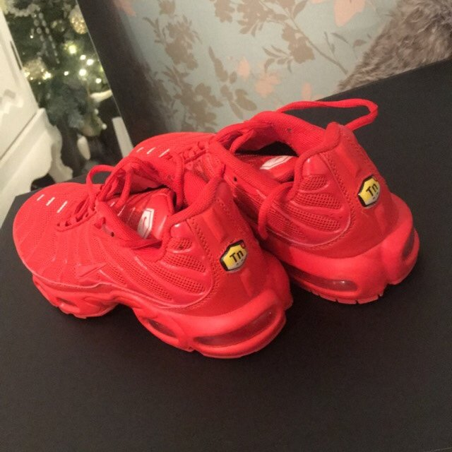 Nike tuned 1 red lava tns, limited
