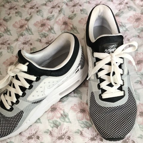 07fd05c588 @delaineg. 5 days ago. Buckeye, United States. Nike Air Max Zero Black  White and Wolf Grey In great condition! Women's size 6