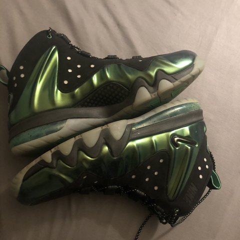 size 40 3fe6a bbeec @astolfe. 14 days ago. Albany, United States. Dope Nike Barkley Posite Max  in the green and black ...