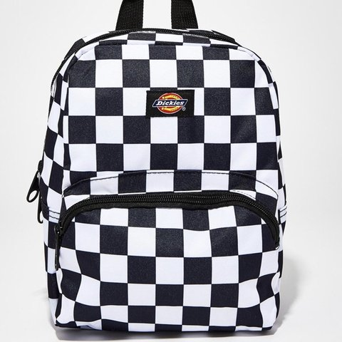 ‼️ON HOLD ‼️Dickies checkered mini festival backpack 🏁 New - Depop 2409ad5340d83