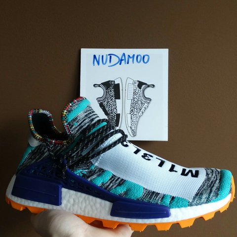1a7cdd2902dcc Want to sell adidas NMD Hu Human Race Pharrell Solar ds