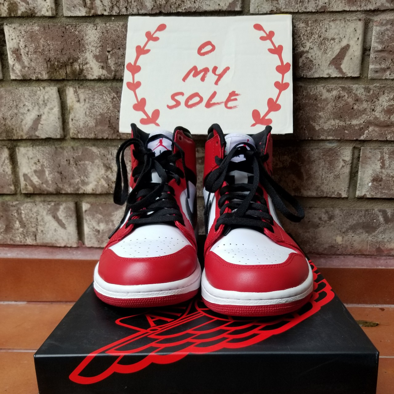 detailed look 1674d 150bd VNDS Air Jordan 1 Chicago 2013. Comes with original ...