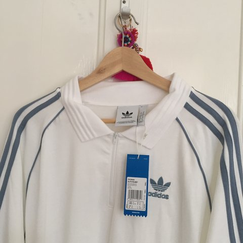 37e01432255 Never worn Adidas men's XL rugby shirt. Bought from ASOS for - Depop