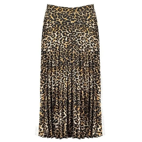 99585fe5d Tesco skirt of the season It's so wearable...Leopard print - Depop