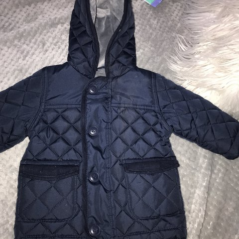 087655c91 Very cute little jacket age 3-6 months for a baby boy. and - Depop