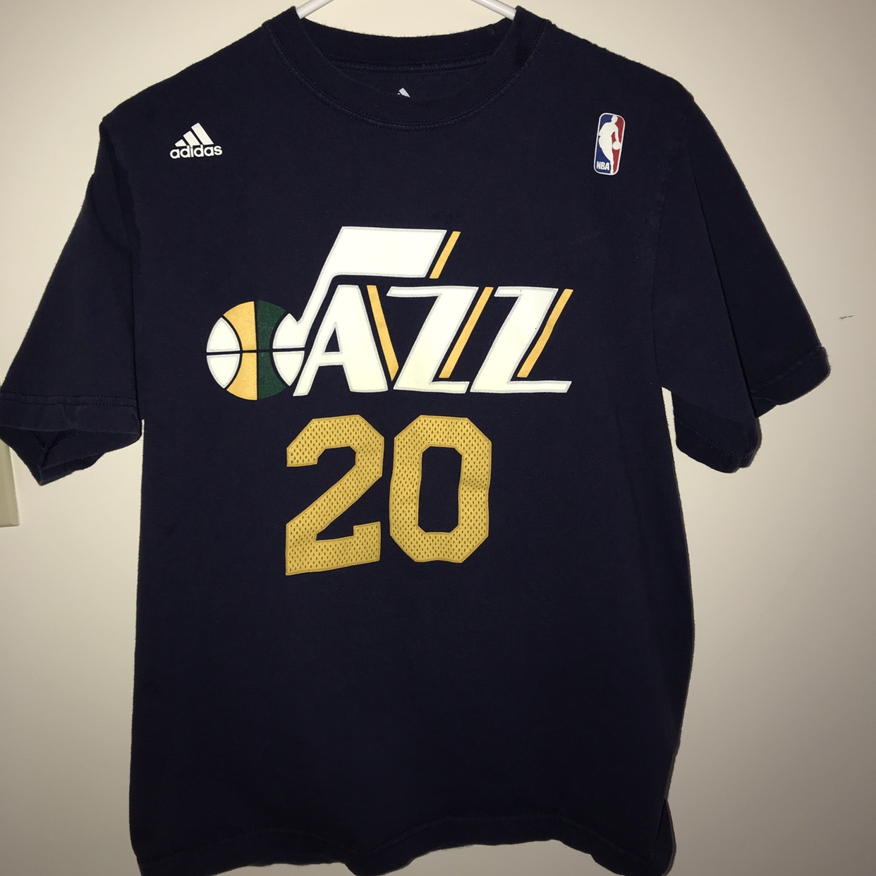 timeless design 17270 ffd6c Adidas NBA Utah Jazz Gordon Hayward Jersey... - Depop