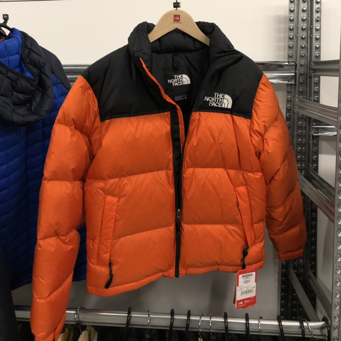 in stock nice cheap hot new products 1996 TNF The North Face Nuptse Persian Orange 700... - Depop