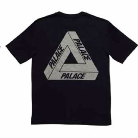 691ad24b43b6 Palace 3m tee in Black. DEADSTOCK. 9 10 condition. Size PM - Depop