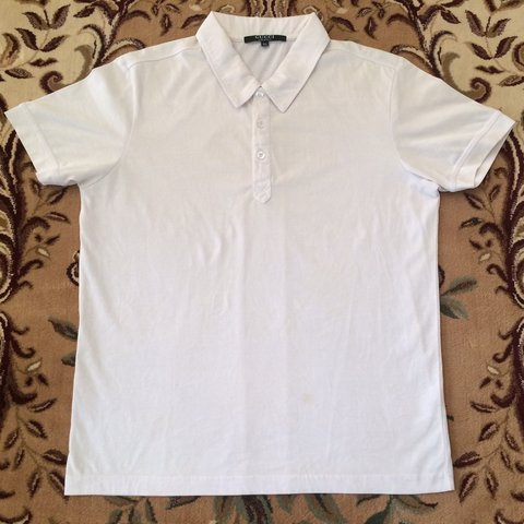 6225f11f32c  jensport. 6 months ago. United States. Vintage Gucci Polo Shirt Plain White  Color Made in Italy Authentic