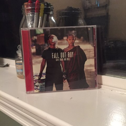 save rock and roll fall out boy cd ! (small lil scratches à - Depop a7ad22d1b