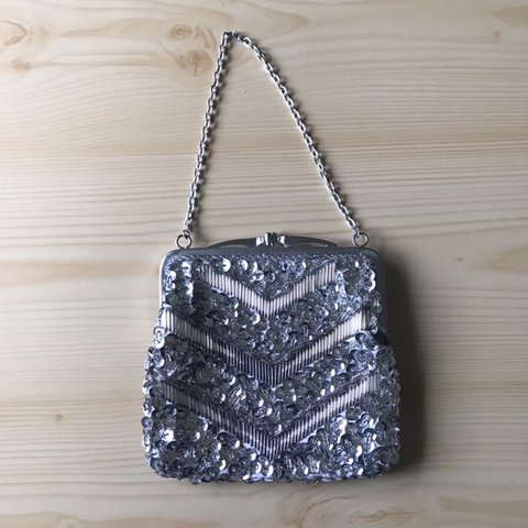 5a39ad7bb Vintage beaded purse that needs a little love. Thrift shop - Depop