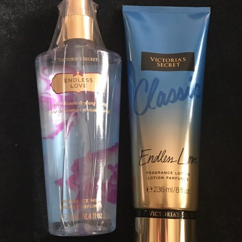 5978767b63b Endless Love discontinued body spray and lotion - Depop