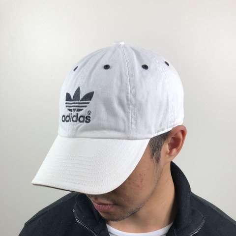 382b12c224a @capvintage. 10 months ago. Sunderland, United Kingdom. VINTAGE WHITE  ADIDAS CAP. All our caps are one size fits ...