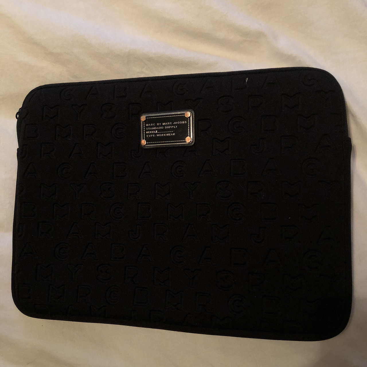 on sale 8a831 f6e6d Marc by Marc Jacobs laptop case 13.3 inch. Soft... - Depop