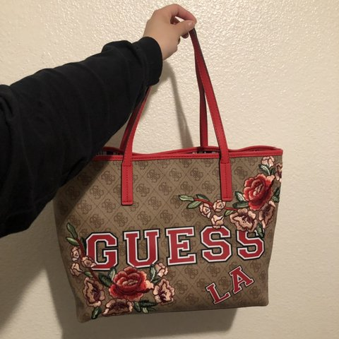 09960a809197 Brand New never used Guess Tote Bag I bought this with Guess - Depop