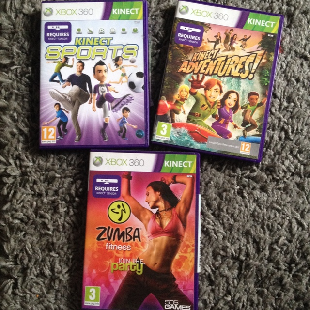 Xbox 360 kinect games kinect sports kinect    - Depop