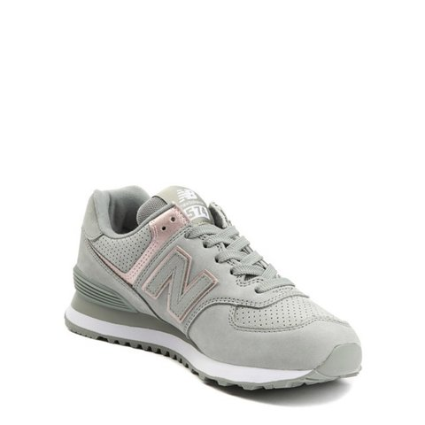 25a3f8b2ac5f Pastel green and rose gold New Balance trainers gorgeous